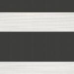 Donker grijs verduisterend duo rolgordijn op maat