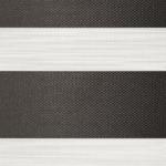 verduisterend grijs gemeleerd duo rolgordijn op maat